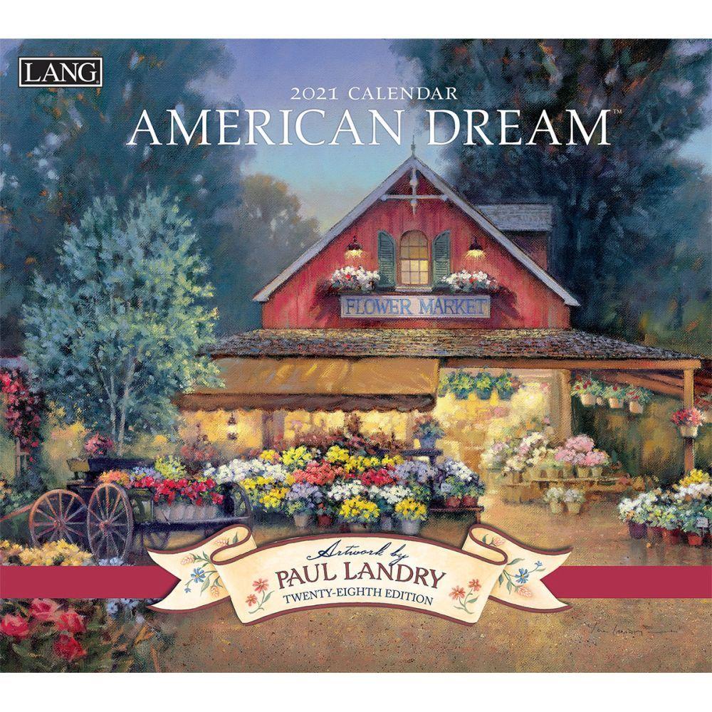 2021 American Dream Wall Calendar by Paul Landry
