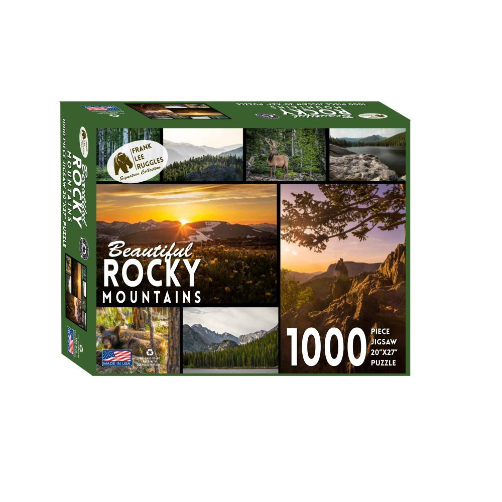 Best Rocky Mountain Ruggles 1000 pc Puzzle You Can Buy