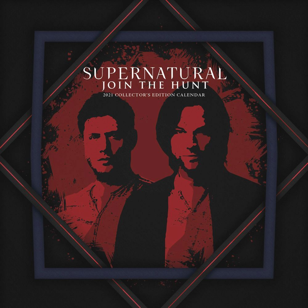 2021 Supernatural Wall Calendar