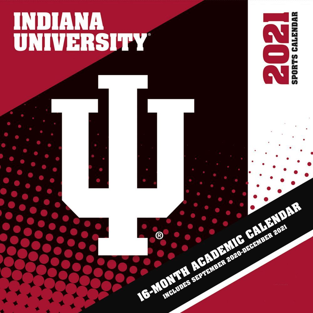 Indiana University Hoosiers 2021 Wall Calendar