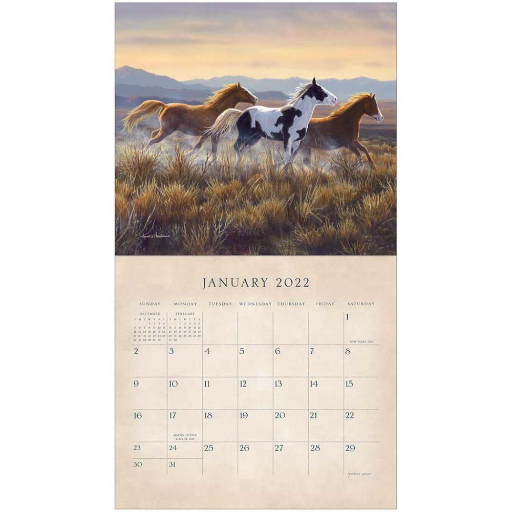 Horse Calendar 2022.Schultz Horses 2022 Wall Calendar Calendars Com