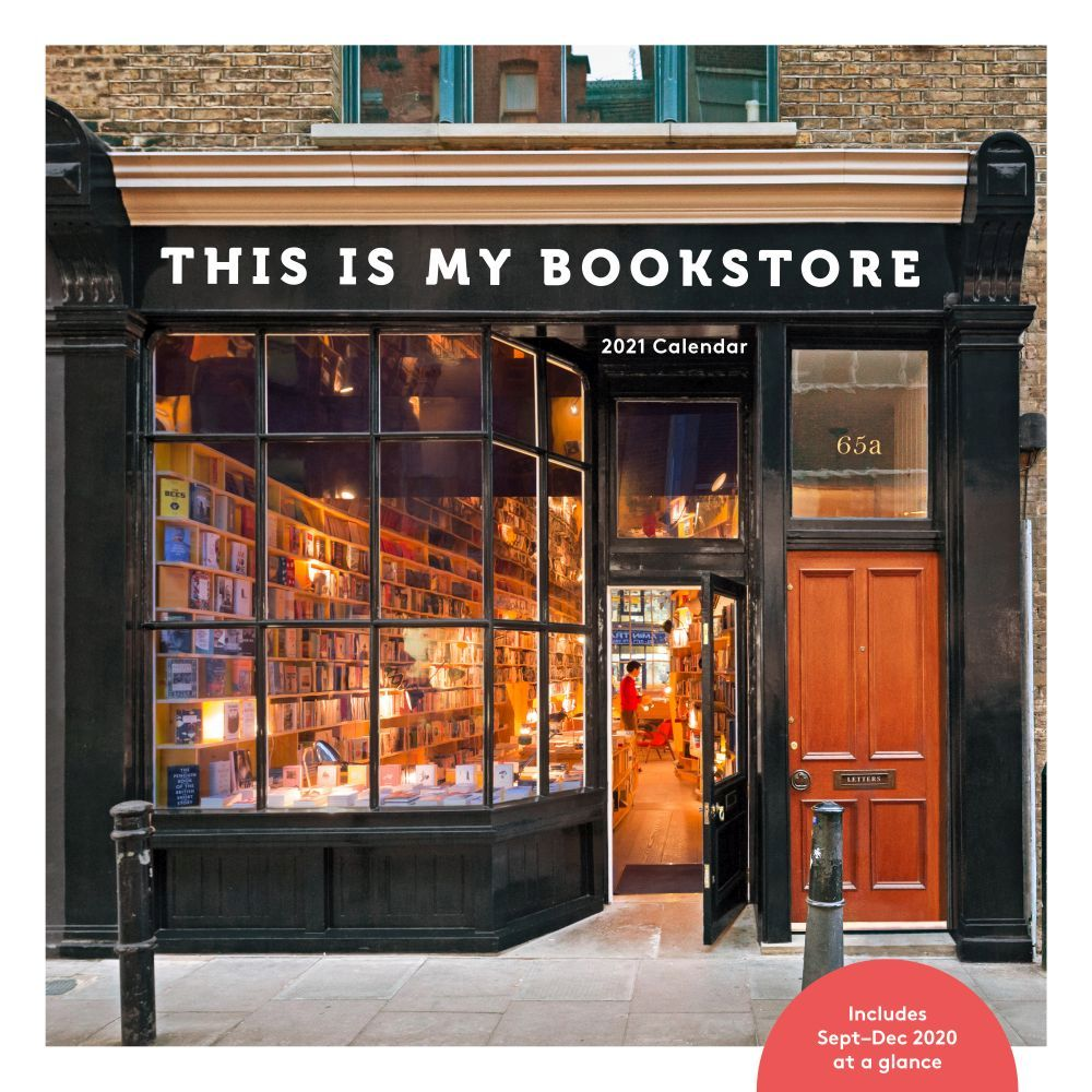 2021 This Is My Bookstore Wall Calendar