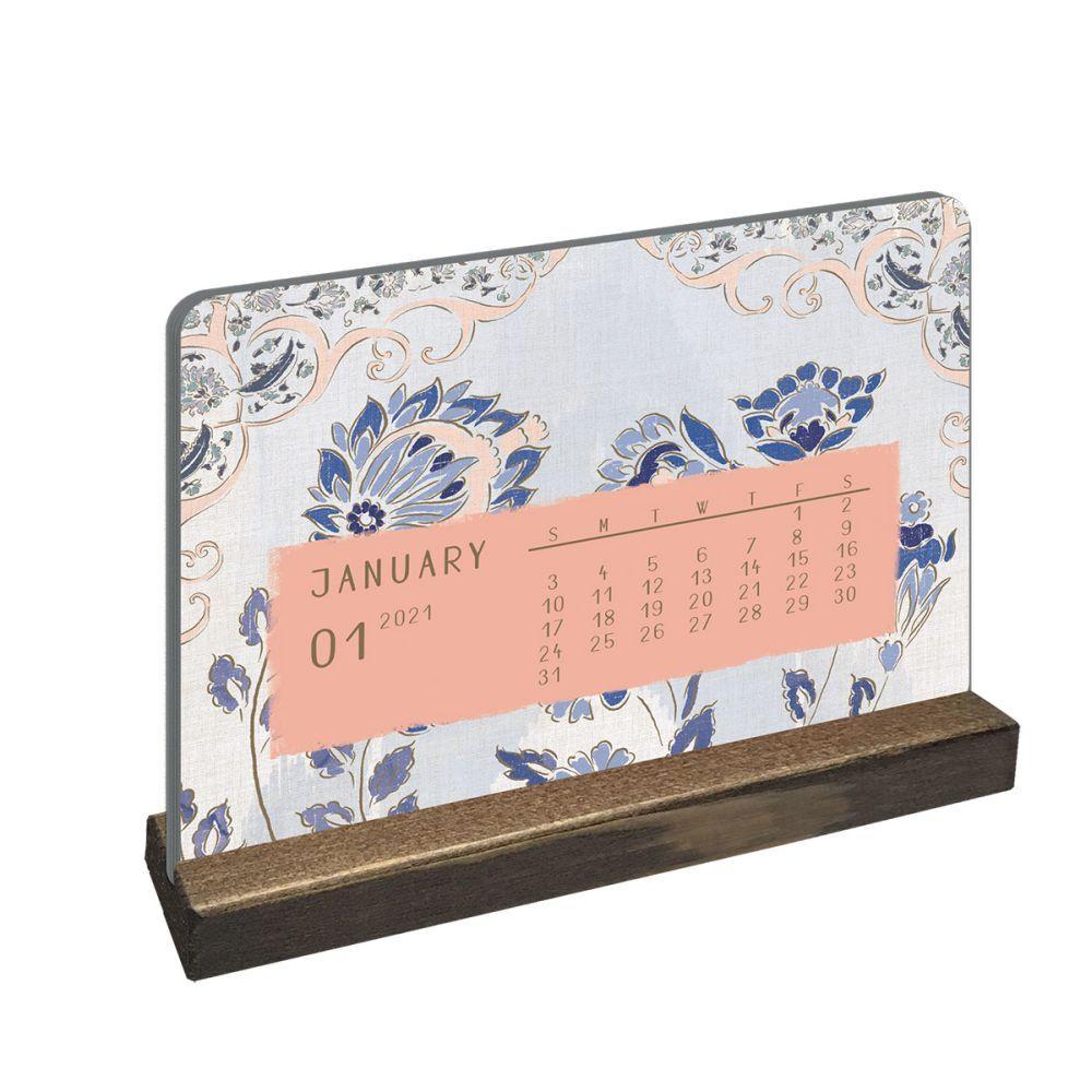 2021 Patina Vie Easel Calendar by Patina Vie