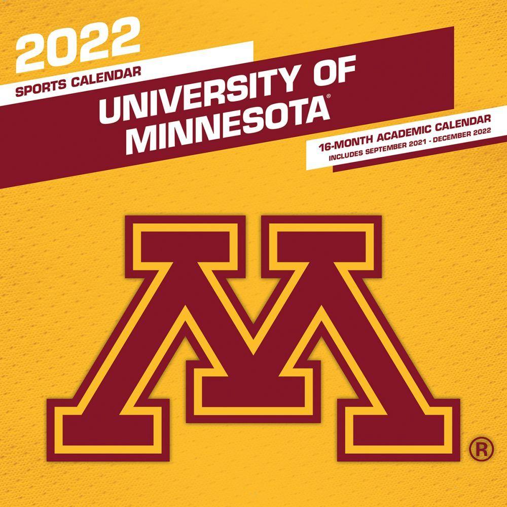 Minnesota Golden Gophers 2022 Wall Calendar