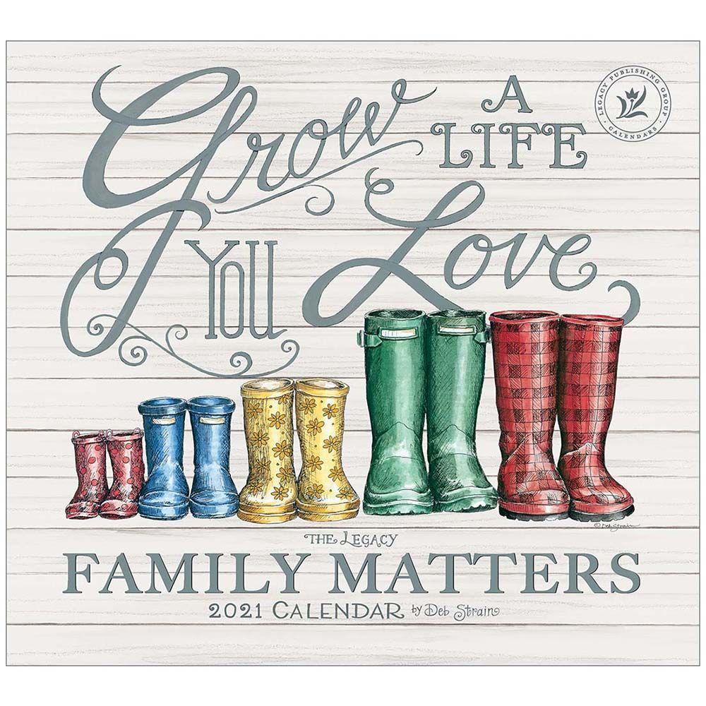 2021 Family Matters Wall Calendar
