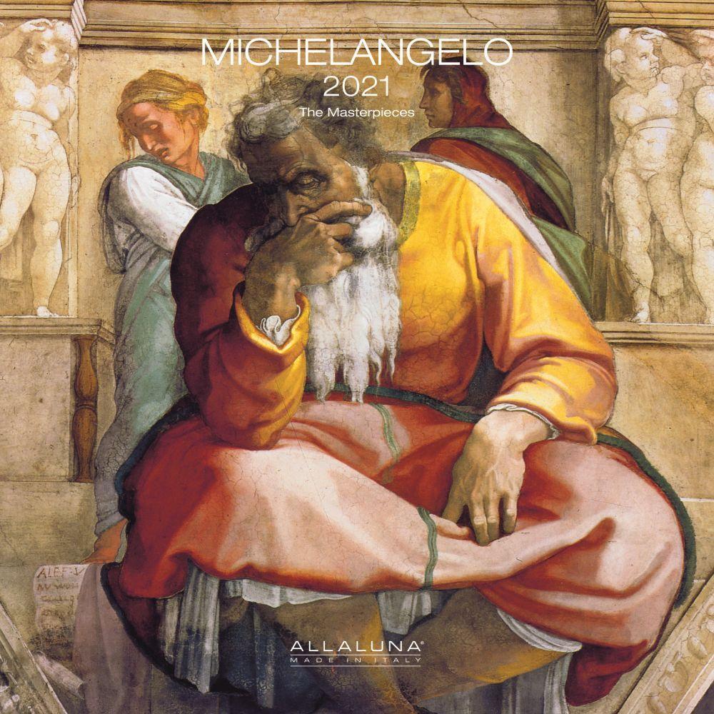 2021 Michelangelo Alla Luna Wall Calendar