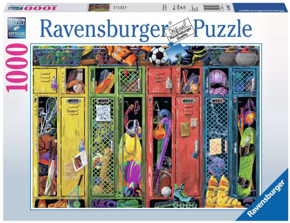 Best Locker Room 500pc Puzzle You Can Buy