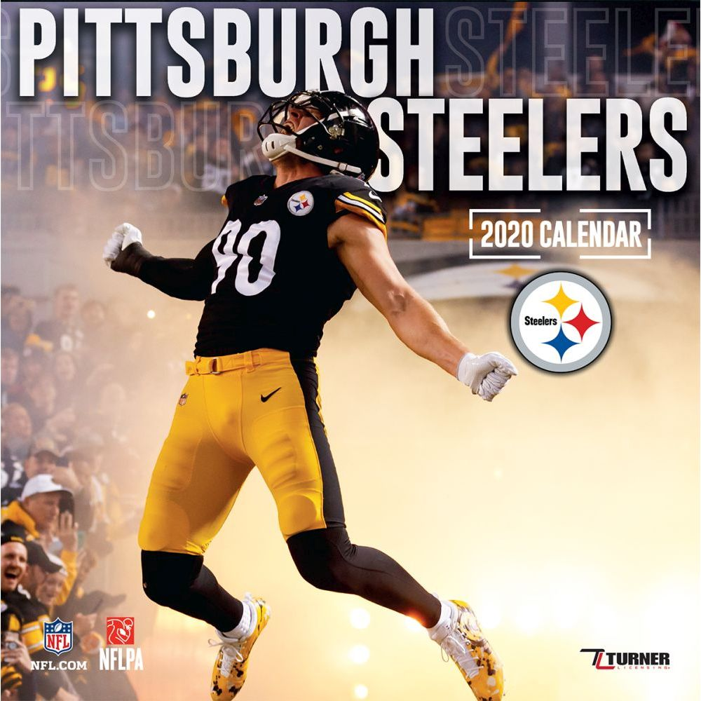 Pittsburgh Steelers 2021 Wall Calendar
