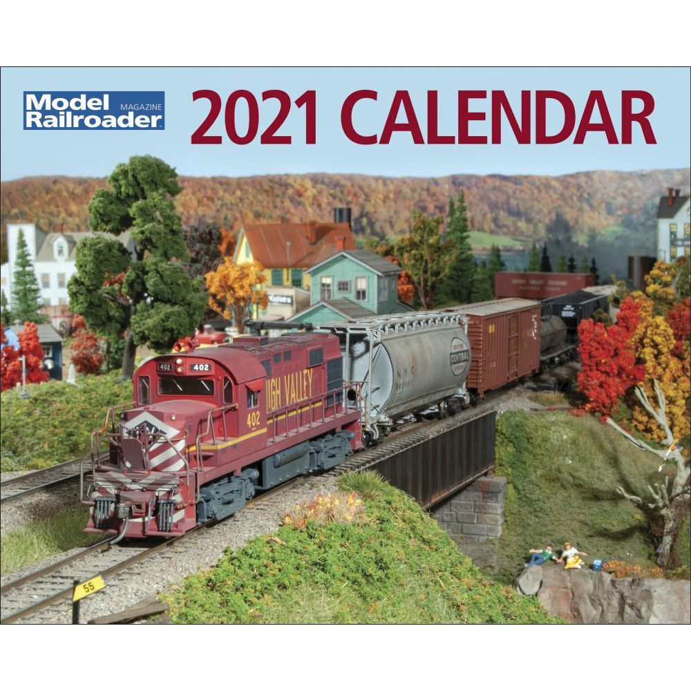 2021 Model Railroader Wall Calendar