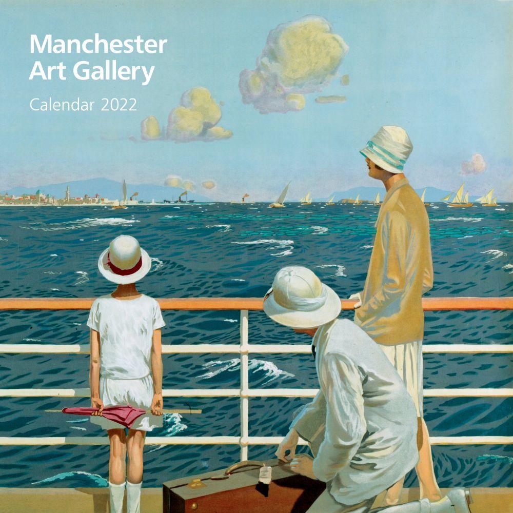 Manchester Art Gallery 2022 Wall Calendar