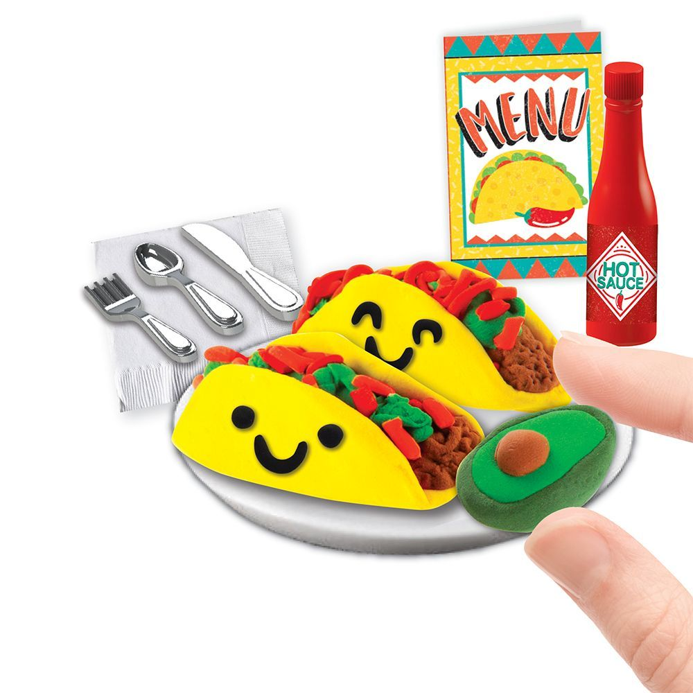Extra Small Taco Dinner Mini Clay Kit-3