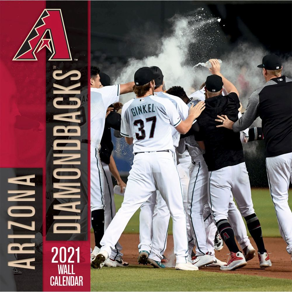 2021 Arizona Diamondbacks Wall Calendar