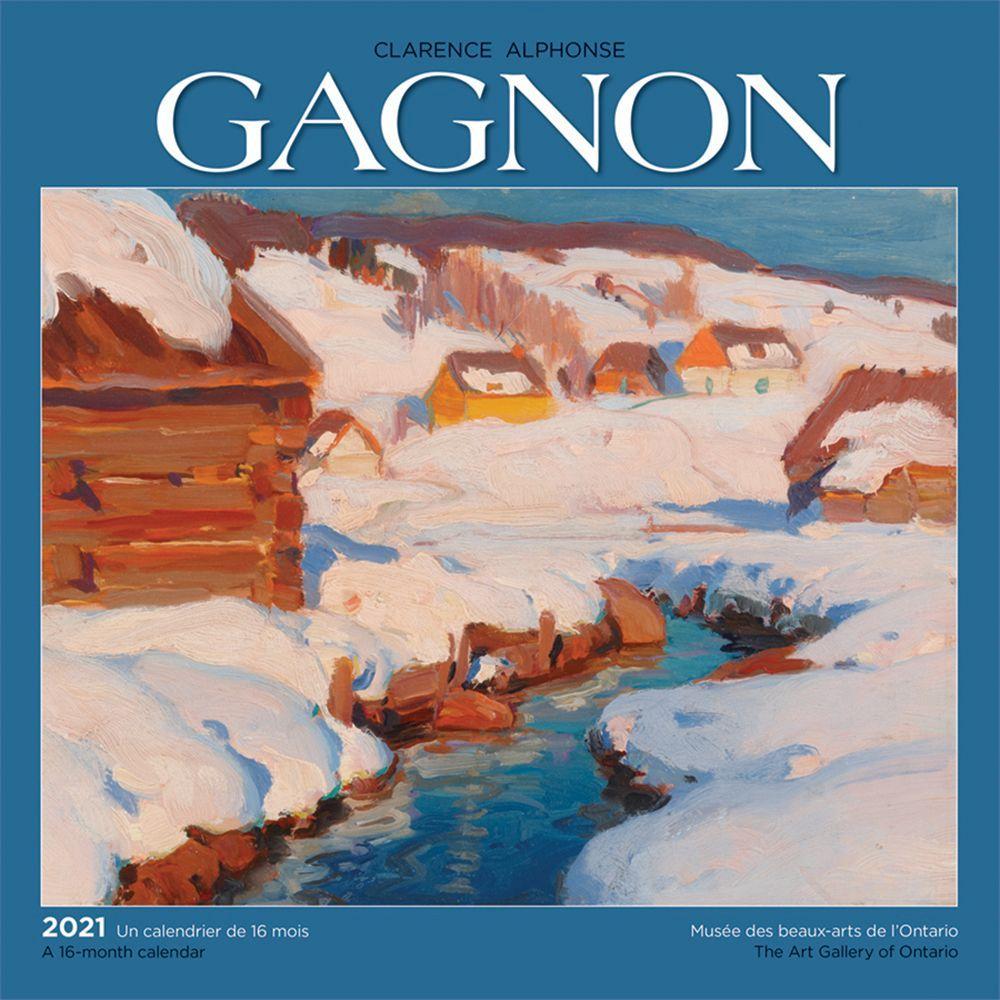 2021 Gagnon AGO Wall Calendar