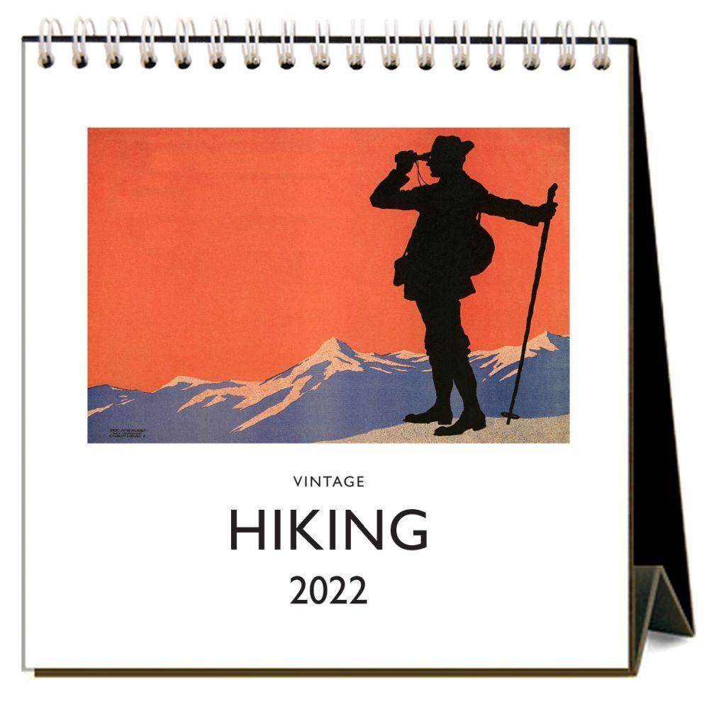 Hiking 2022 Desk Calendar
