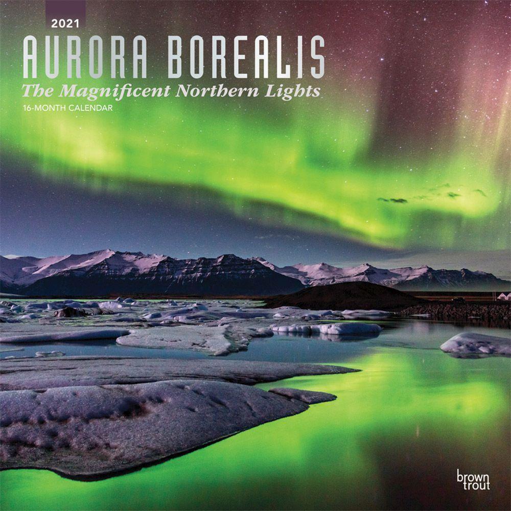 Aurora Borealis 2021 Wall Calendar