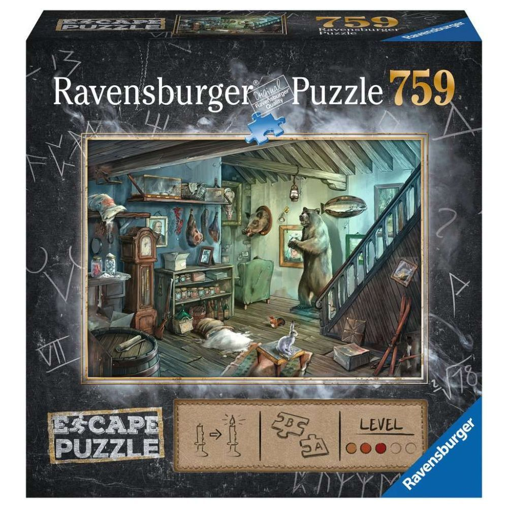 Best Escape Forbidden Basement 759pc Puzzle You Can Buy