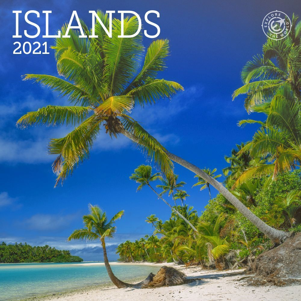 2021 Islands Mini Wall Calendar