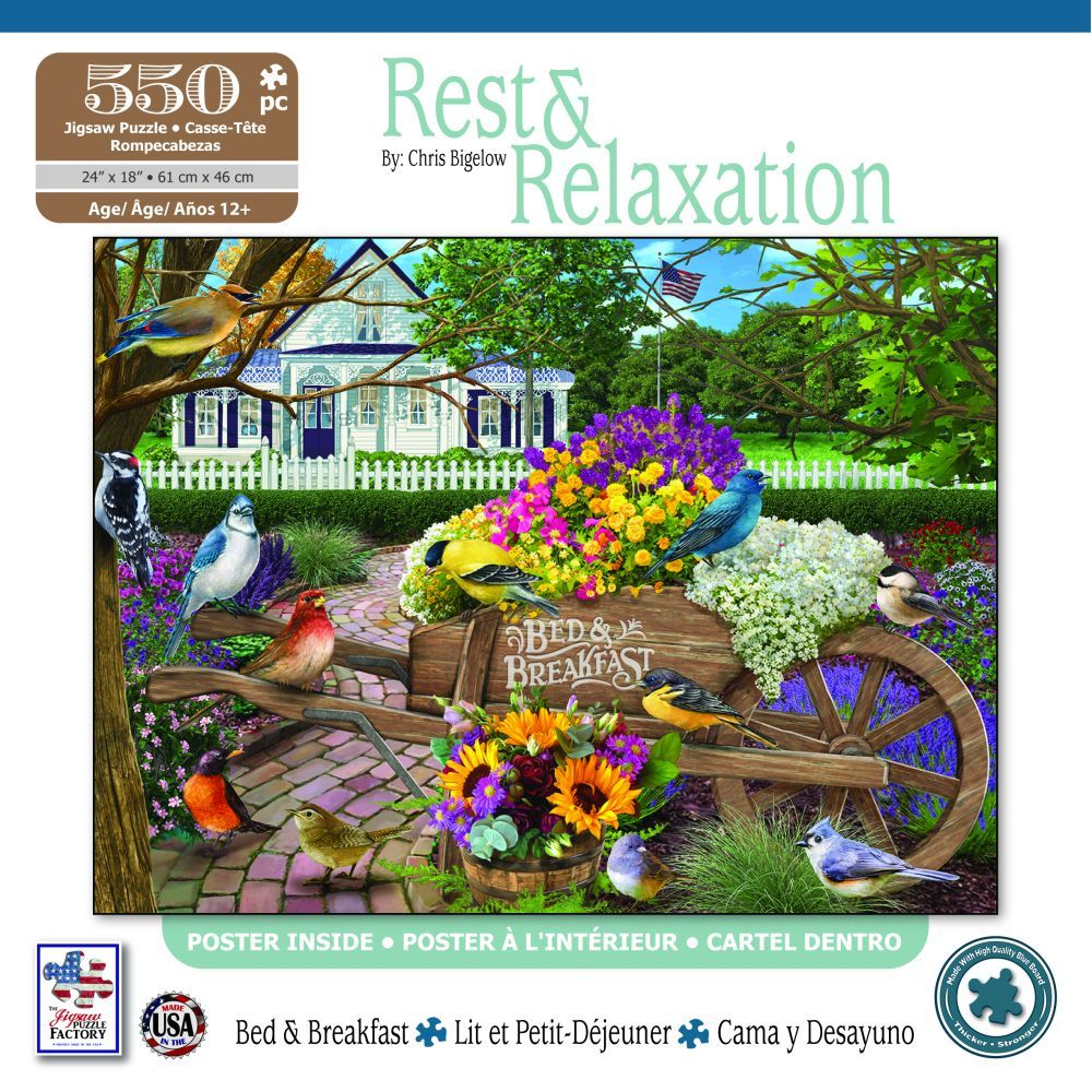 Best Bed & Breakfast 550 pc puzzle You Can Buy