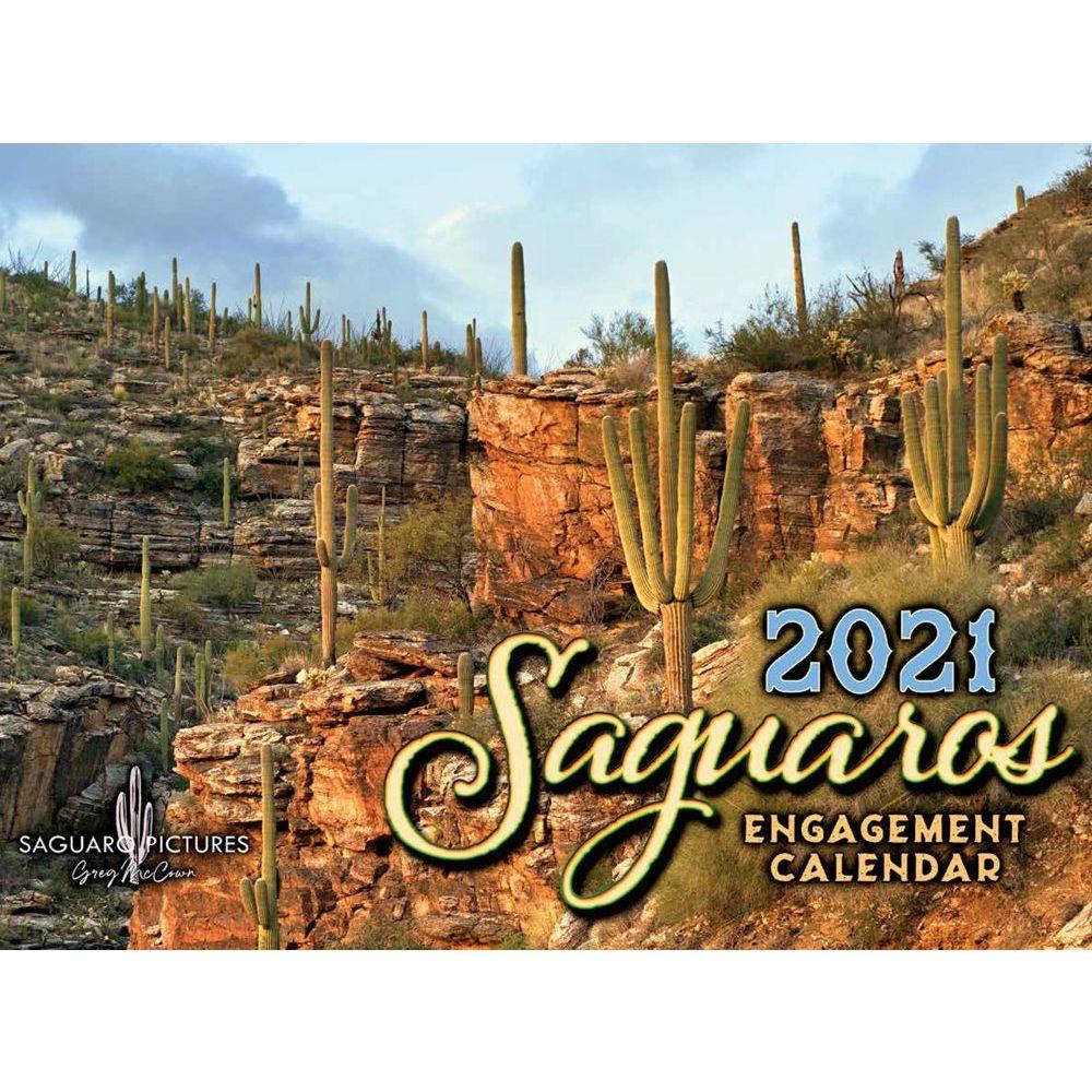 2021 Saguaros Wall Calendar