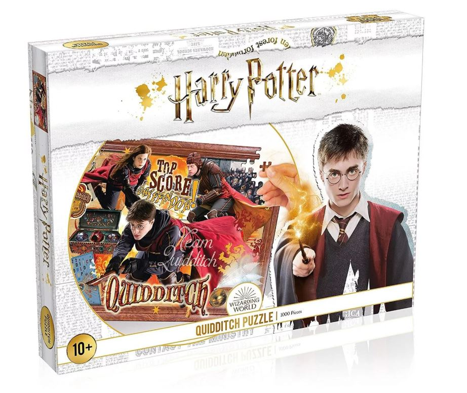 Best Harry Potter Quidditch 1000pc Puzzle You Can Buy