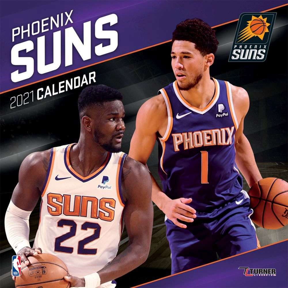 Top 2021 Phoenix Suns Team Wall Calendar