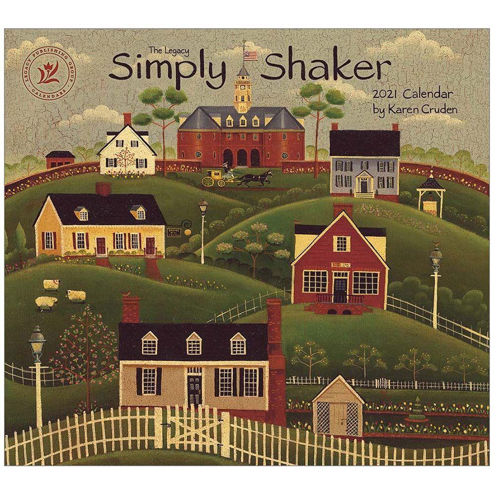 2021 Simply Shaker Cruden Wall Calendar