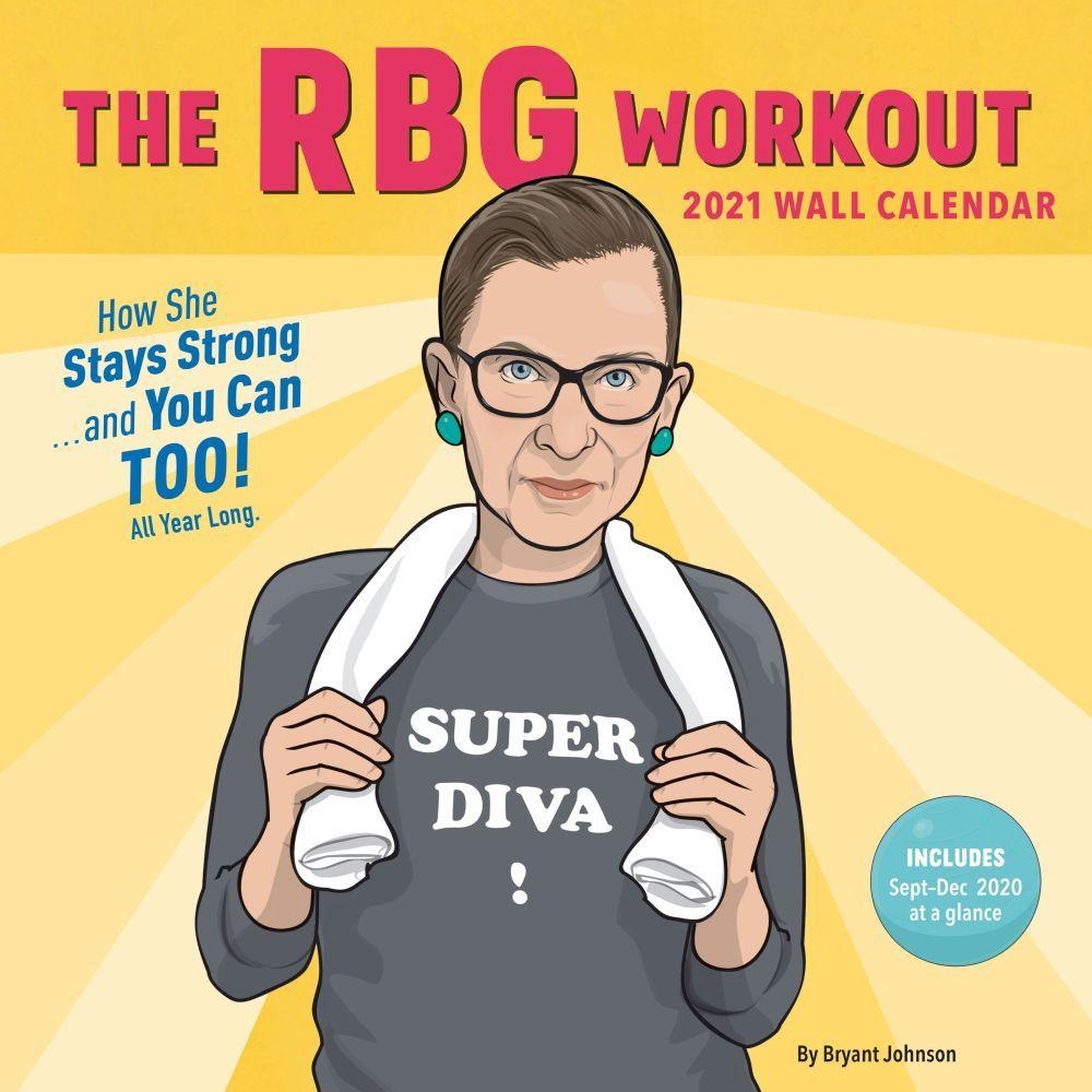 2021 RBG Workout Wall Calendar