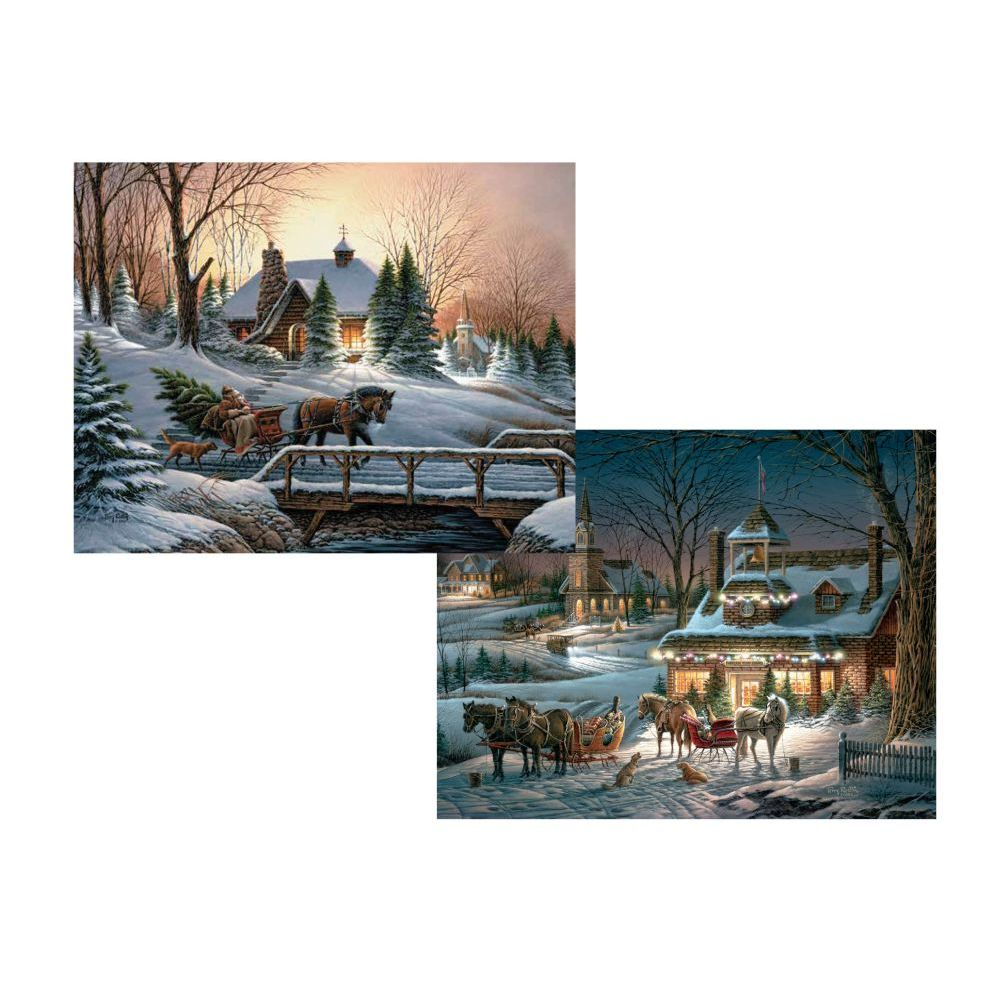 evening-rehearsals-5.375-in-x-6.875-in-assorted-boxed-christmas-cards-image-main
