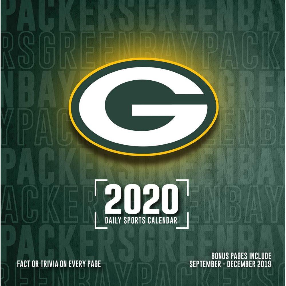Green Bay Packers 2021 Desk Calendar