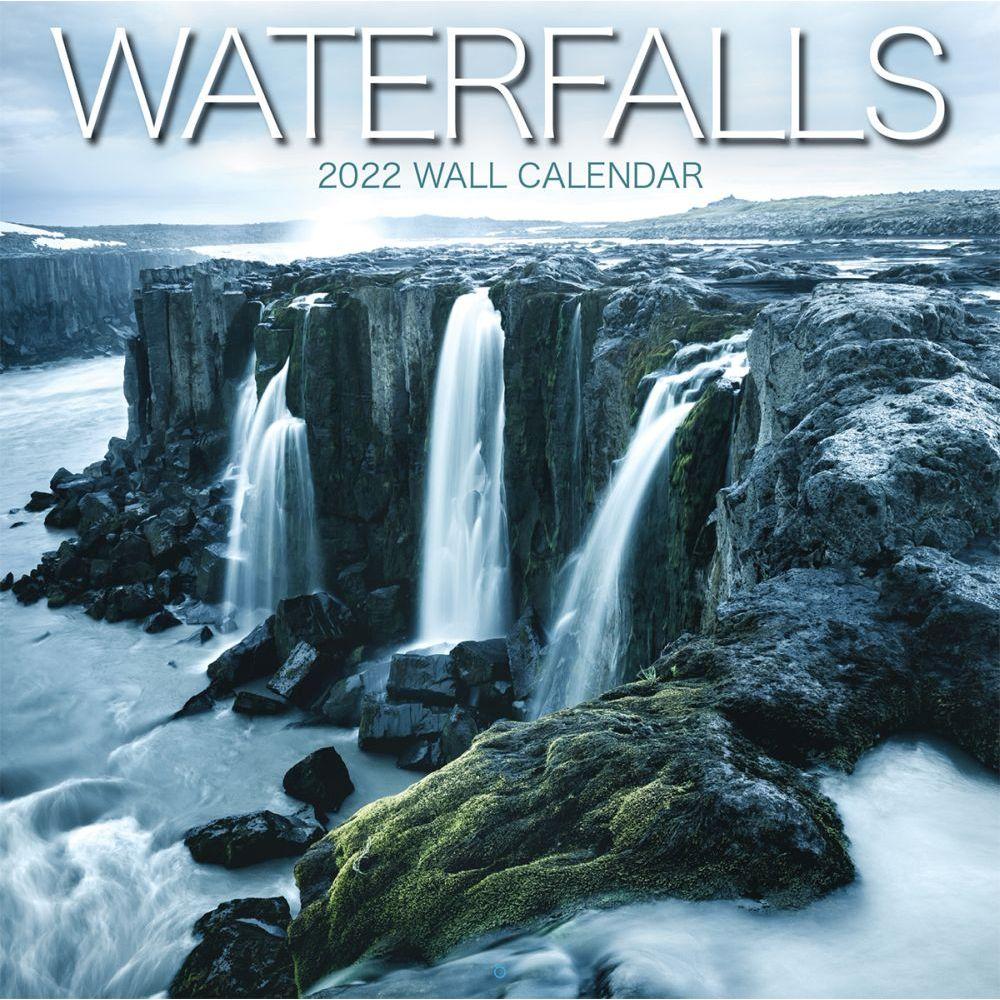 Waterfalls 2022 Wall Calendar
