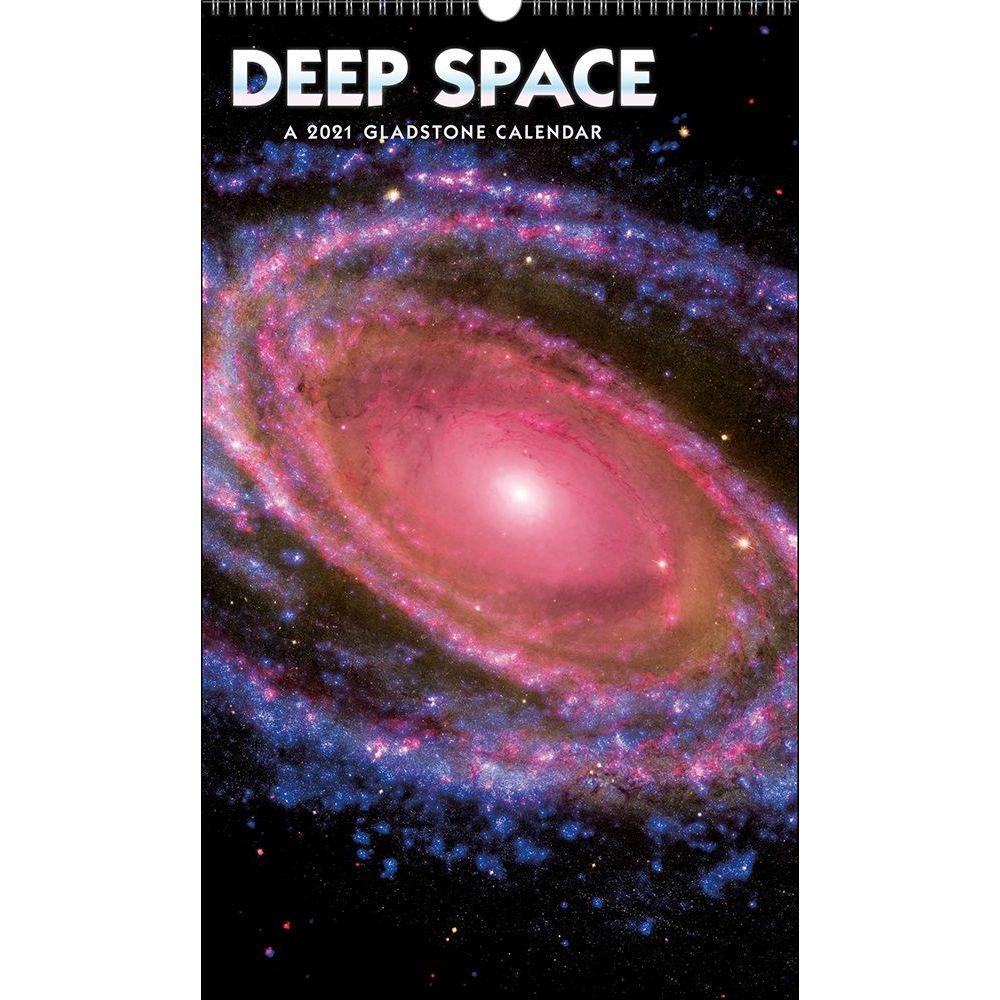Deep Space Poster 2021 Wall Calendar