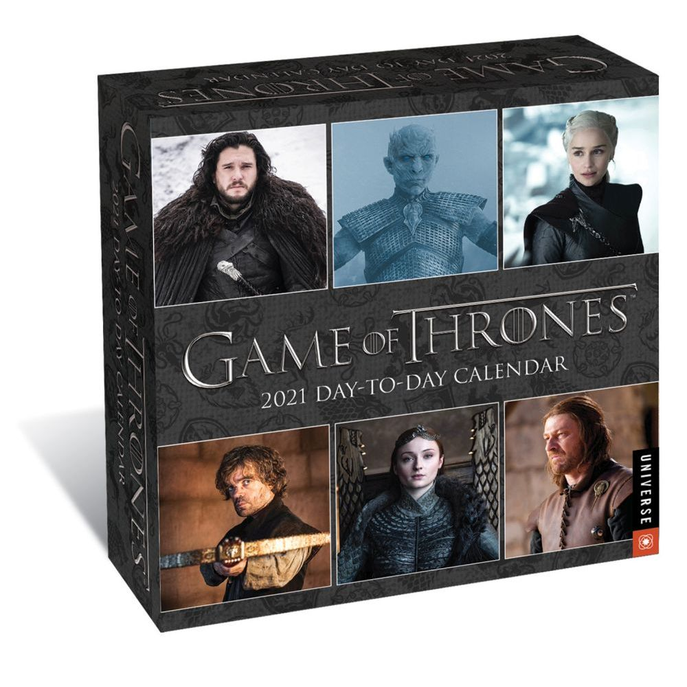 2021 Game of Thrones Desk Calendar
