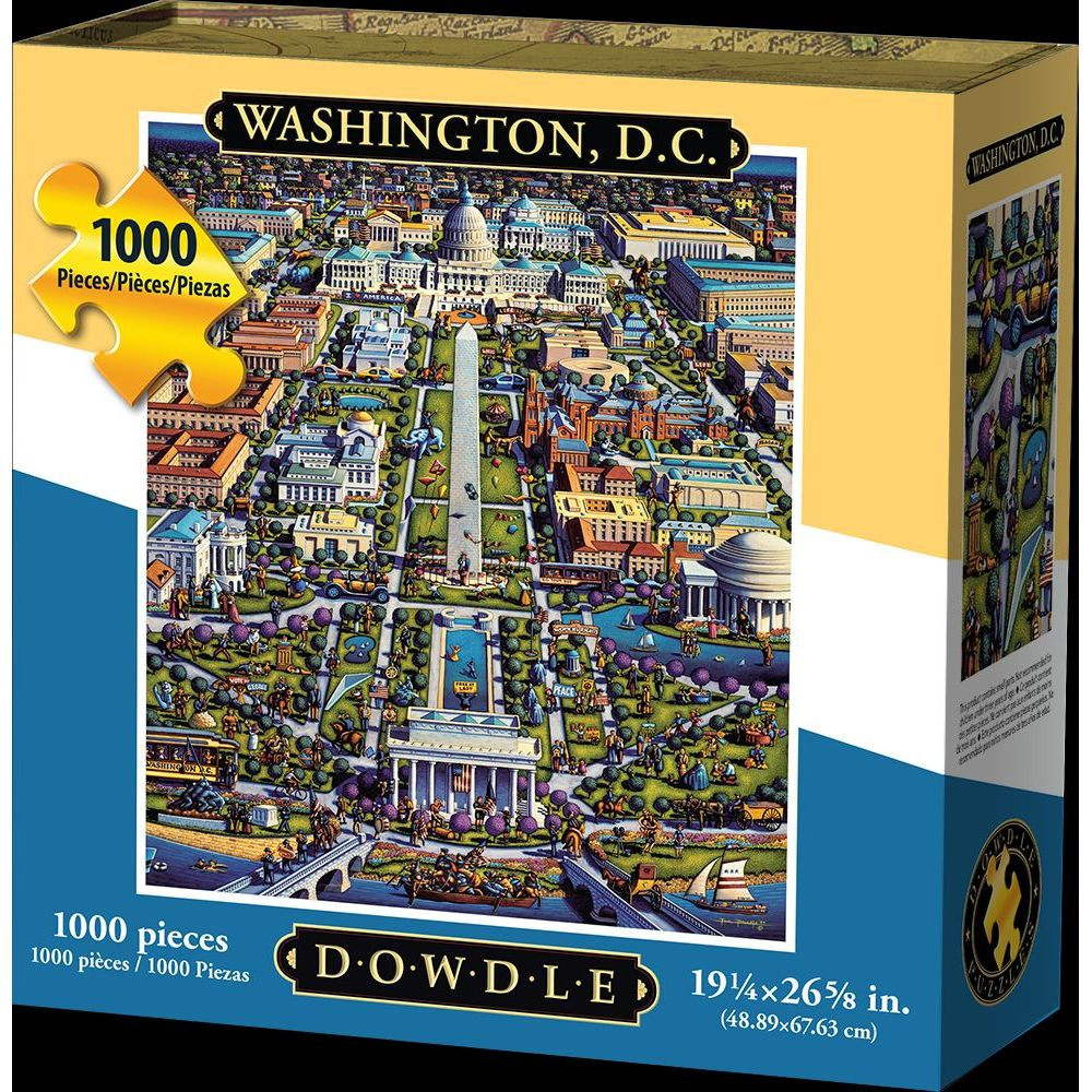 Best Washington DC Mall 1000pc Puzzle You Can Buy