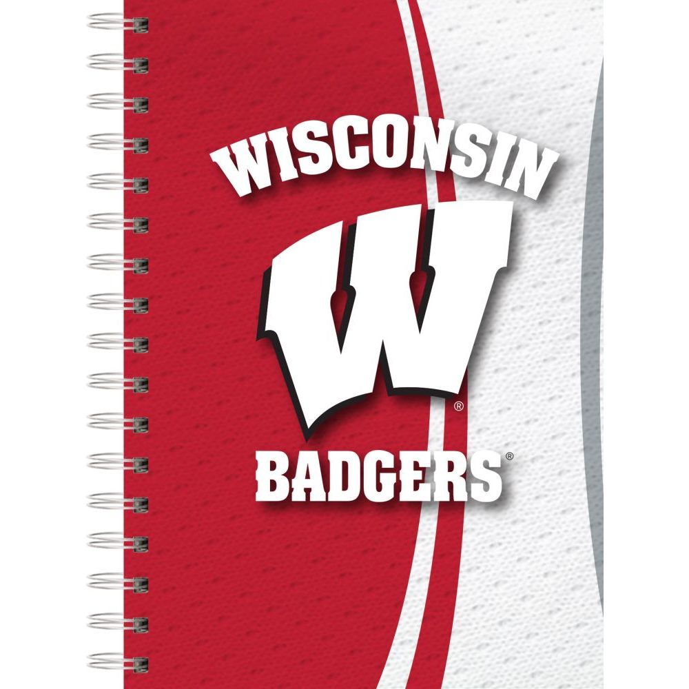Col-Wisconsin-Badgers-Spiral-Journal