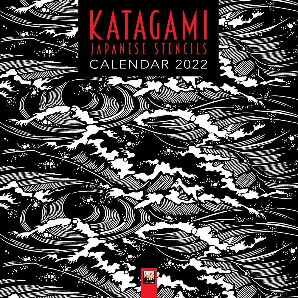 MoDA Japanese Stencils Katagami 2022 Wall Calendar