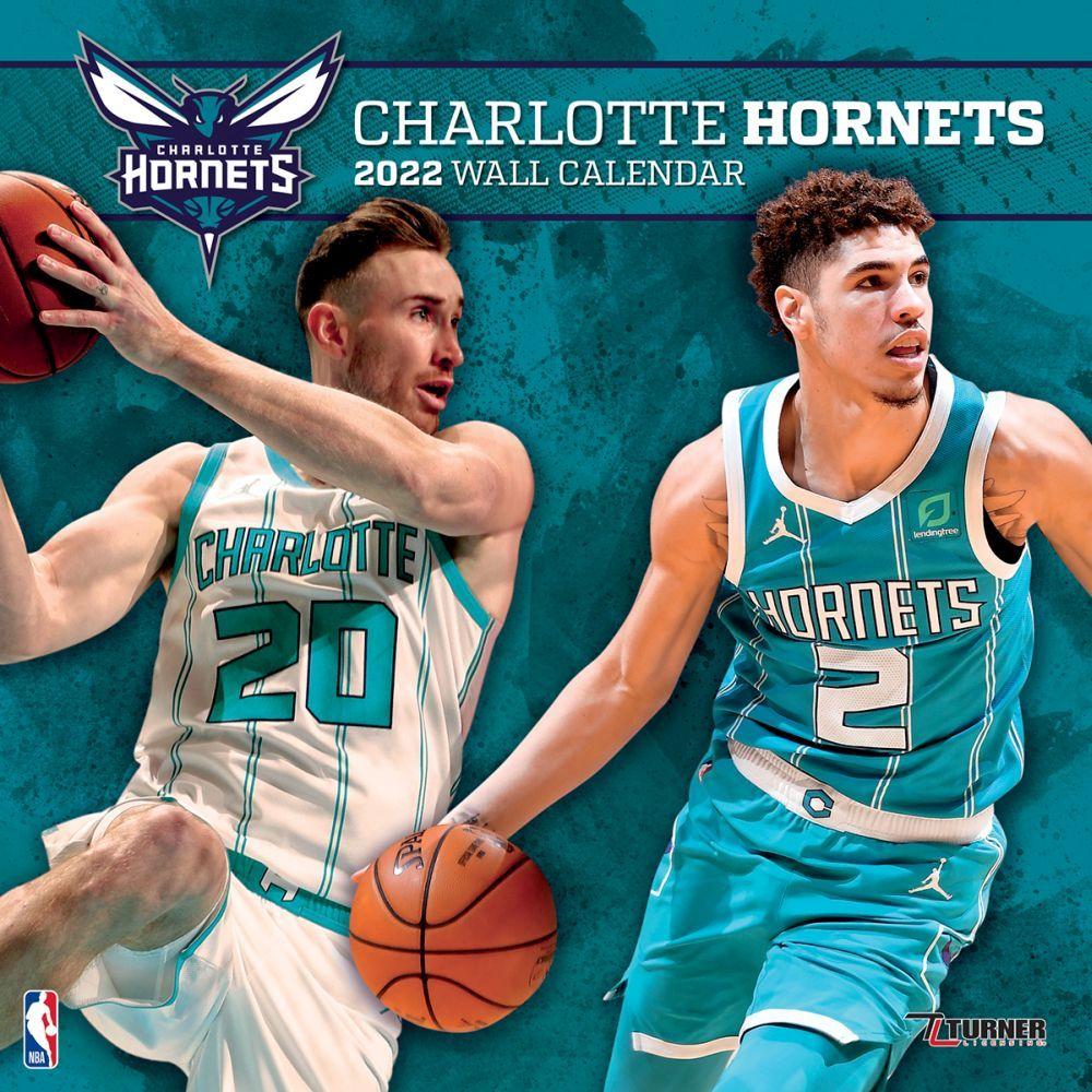 Charlotte Hornets 2022 Wall Calendar