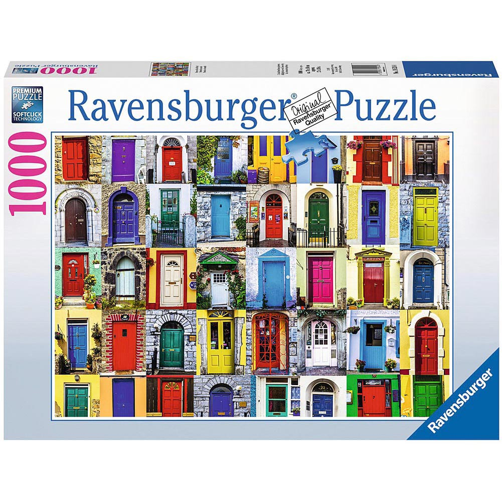 Best Doors of the World 1000 Piece Puzzle You Can Buy