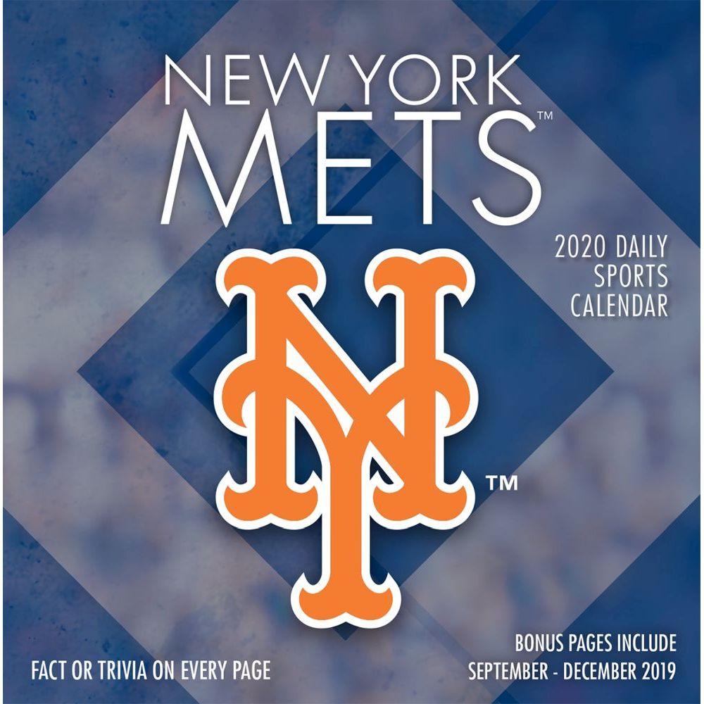 New York Mets 2021 Desk Calendar