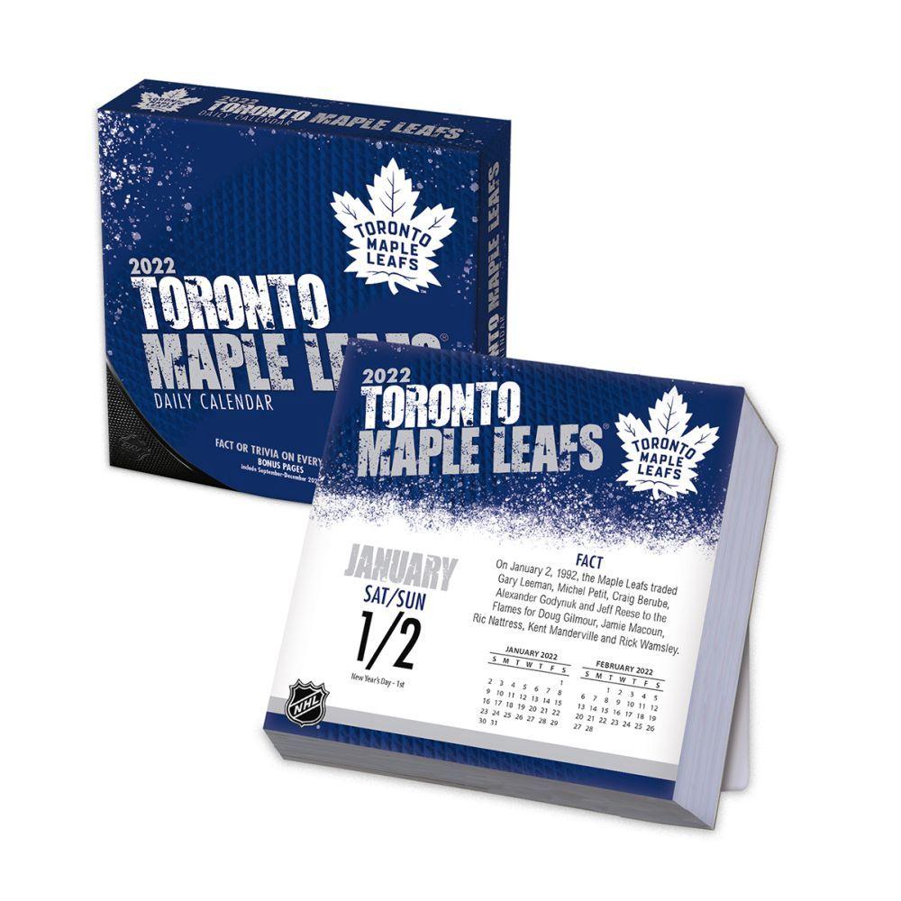Toronto Maple Leafs 2022 Desk Calendar