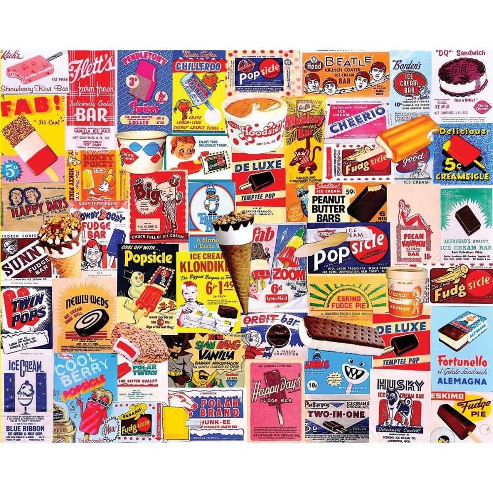 Best Ice Cream Bars 1000pc Puzzle You Can Buy