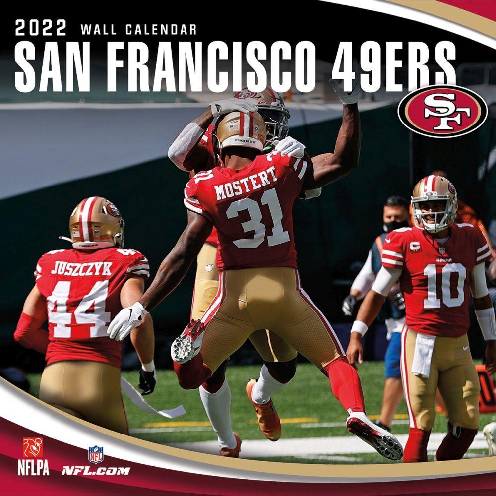 San Francisco 49ers 2022 Wall Calendar