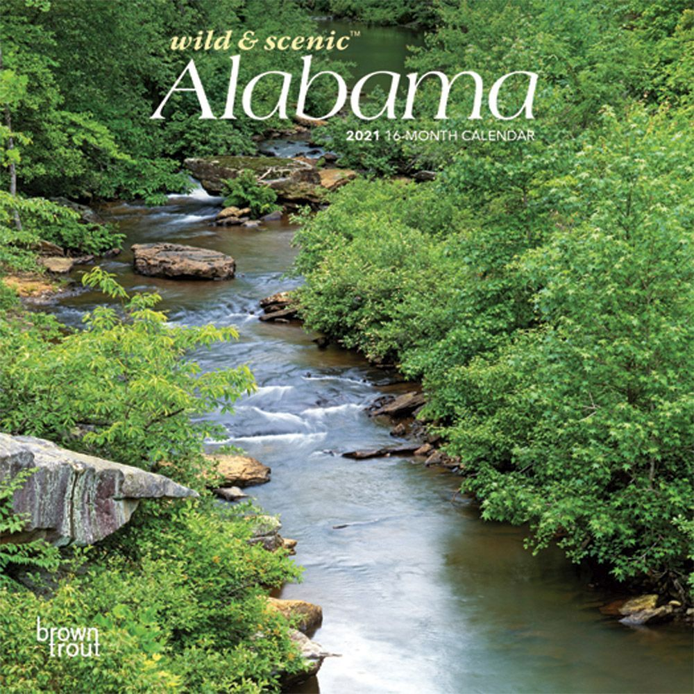 Alabama 2021 Mini Wall Calendar
