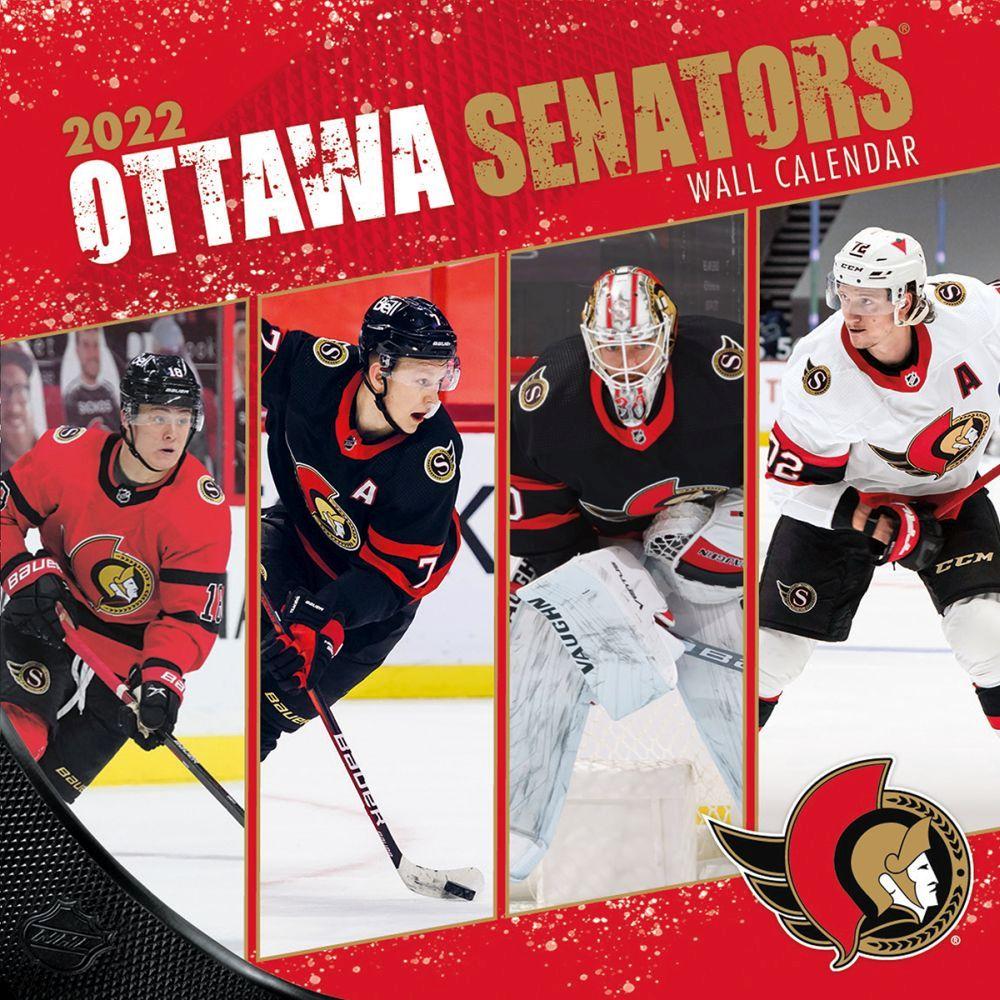 Ottawa Senators 2022 Wall Calendar