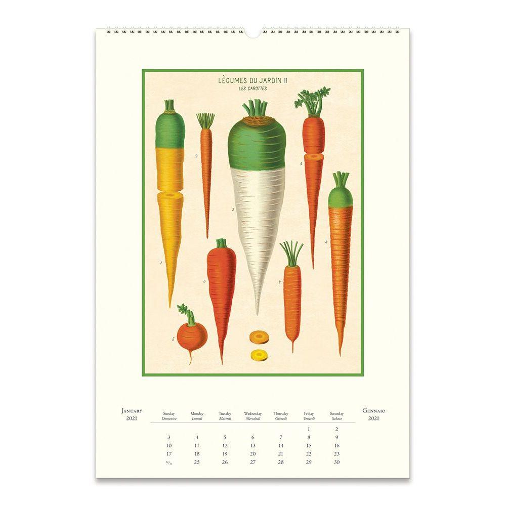 Farmers Market Poster Wall Calendar - Calendars.com