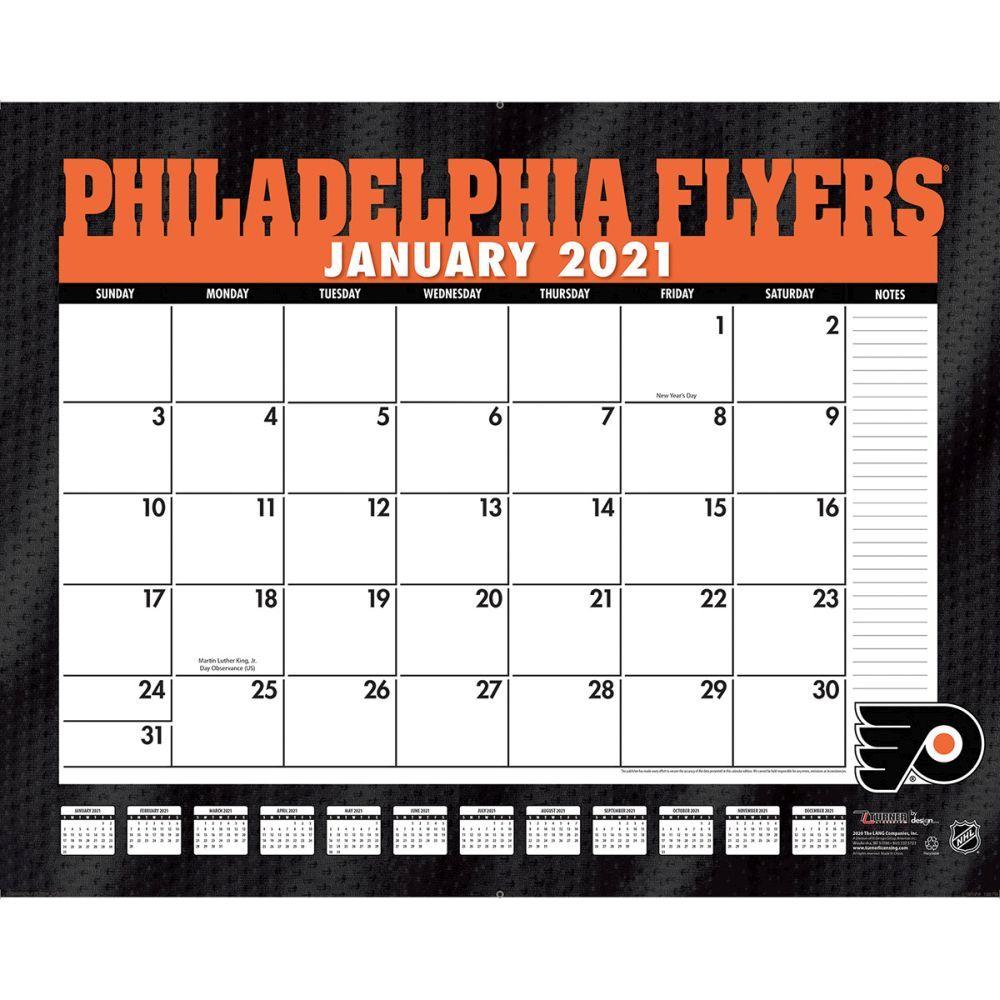 Philadelphia Flyers 2021 Pad Calendar
