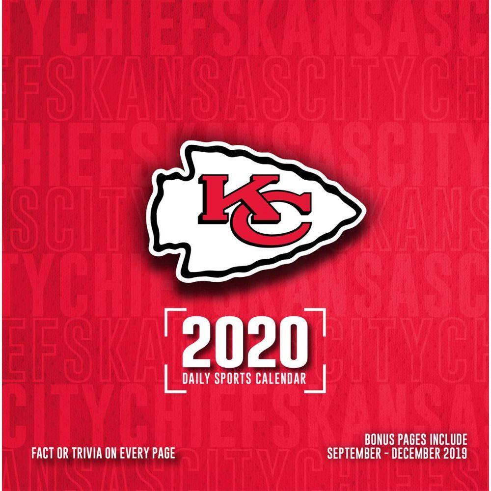 Kansas City Chiefs 2021 Desk Calendar
