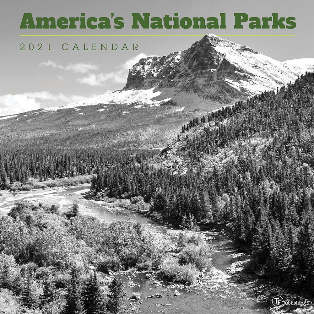 National Parks 2021 Wall Calendar