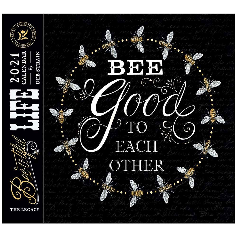 2021 Bee Happy Wall Calendar