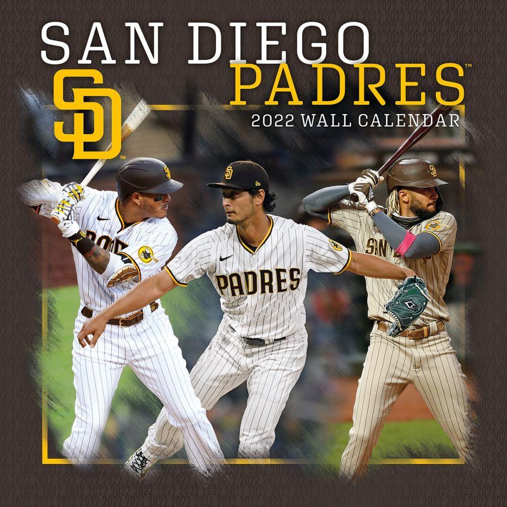San Diego Padres 2022 Wall Calendar