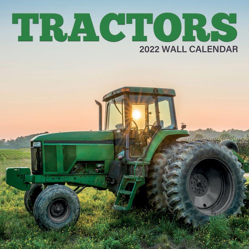 Tractors 2022 Wall Calendar